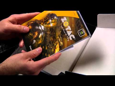 Unboxing of the Zotac GTX 560 Ti GPU (graphics processing unit) Graphics Card