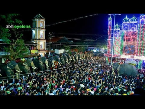 Thechikottukavu ramachandran effect in chirakkal fest ( hi power)