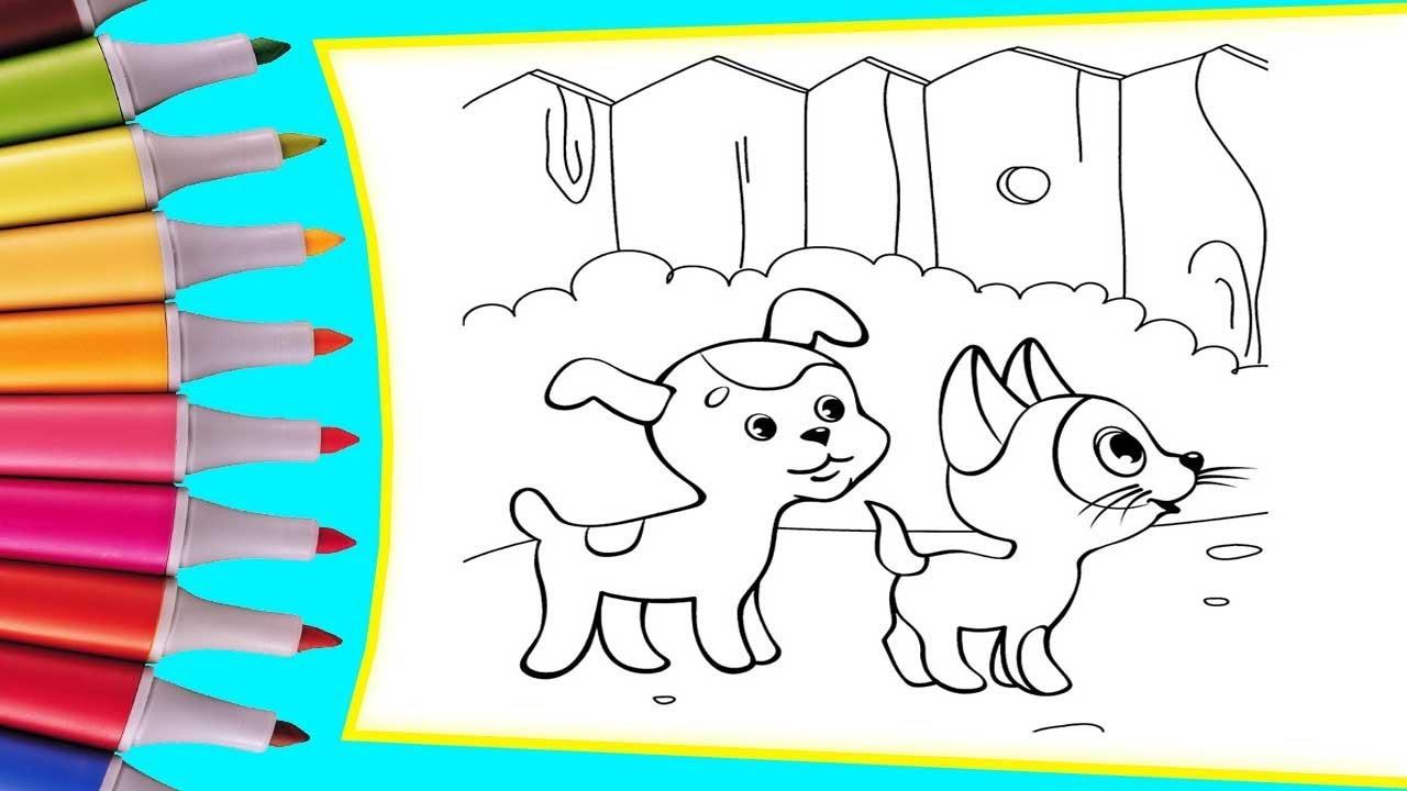 РАСКРАСКИ! Раскрашиваем картинки для детей из мультфильмов ...