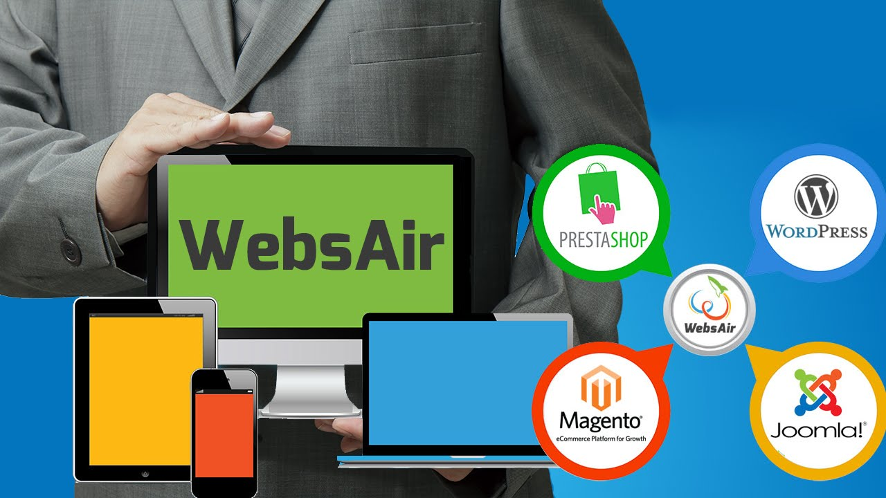 Website Media Hosting Solutions in Bengaluru / Bangalore at WebsAir