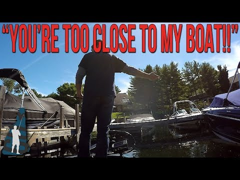 Slight Altercation With Waterfront Homeowner On Lake Winnipesaukee