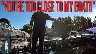 Slight Altercation with Waterfront Homeowner on Lake Winnipesaukee