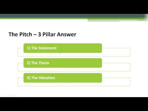 Mock Equity Research Interview Question – Pitch Me A Stock