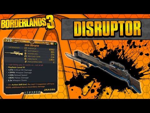 Borderlands 3   Ionic Disruptor Legendary Weapon Guide (Bypass Shields + Shock Melee Bonus)