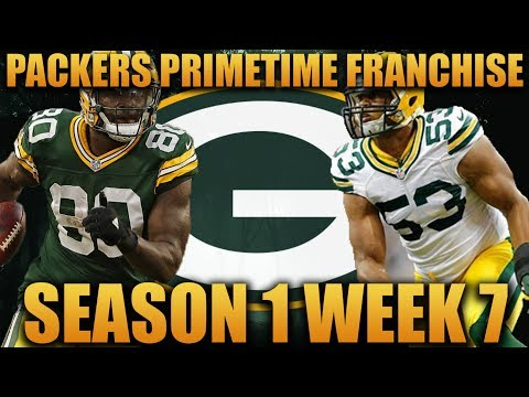 Madden 18 Packers Franchise | Primetime League Season 1 Week 7! Trying to Get Back on Track!
