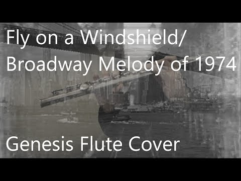 Fly on a Windshield/Broadway Melody of 1974 - Genesis Flute Cover