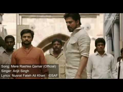 Raees songs in HD mere rashkhe qamar