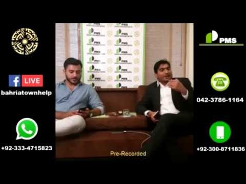 Live conversation Bahria Town Lahore , PMS is dealing in Bahria Town , Bahria Orchard & EMC