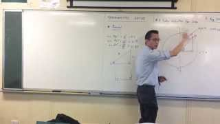Redefining Sine (2 of 3: The Unit Circle)