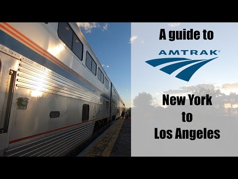Amtrak New York to Los Angeles in a Roomette