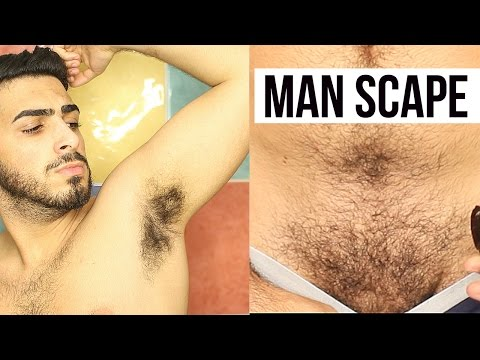 How To Groom Your Armpits  | Manscape | Male Grooming