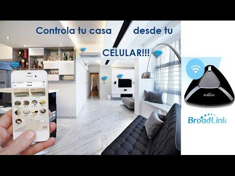 Central Domotica RM PRO 3 Broadlink Wifi IR RF Colombia Español