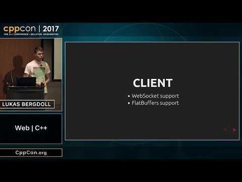 "CppCon 2017: Lukas Bergdoll ""Web 