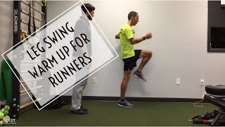 Leg Swing Warm Up for Runners