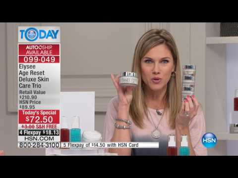 HSN | HSN Today: Elysee Scientific Cosmetics 03.14.2017 - 08 AM