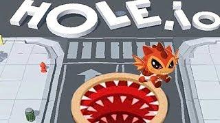 Dash Tag - Super Rare Drake VS Hole io Game Play for Kids