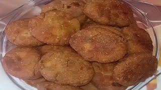 thekua recipe / thekua kaise banaye / suji maida ka khasta thekua