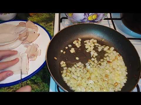 Как приготовить вкусные ЖАРЕНЫЕ КАЛЬМАРЫ на сковородке с ЛУКОМ и майонезом