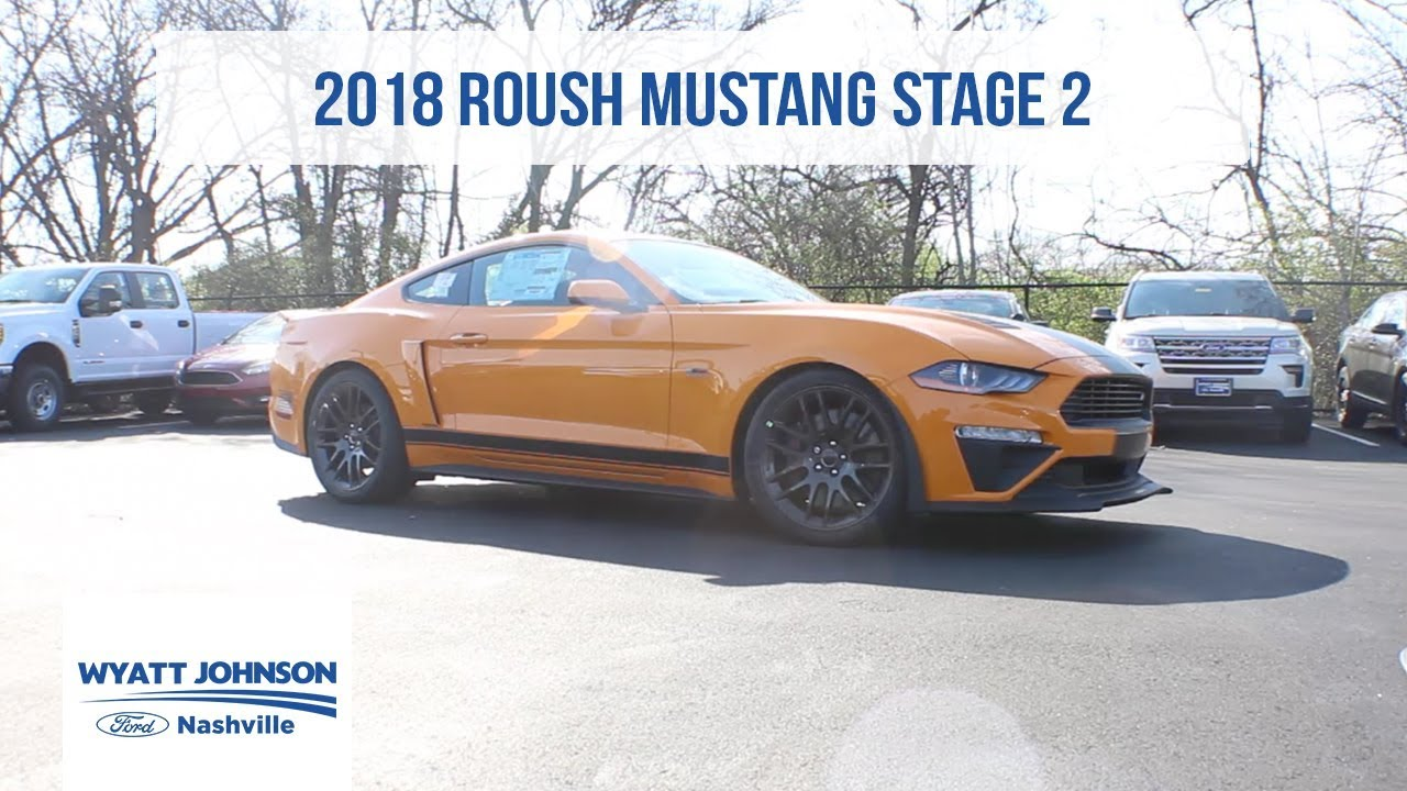 2018 Roush Mustang Stage 2 Orange Fury For Sale Youtube