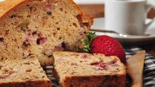 Strawberry Bread Recipe Demonstration - Joyofbaking.com