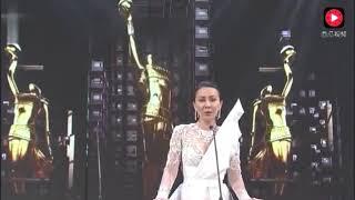 刘嘉玲颁奖太百女王气场了,连台下老公梁朝伟都刮目相看