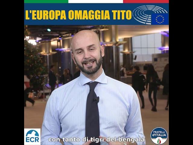 L'Europa omaggia Tito