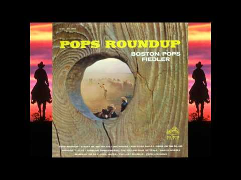 Pops Roundup (Medley of TV Themes) - Boston Pops - Fiedler
