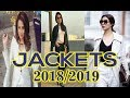 Latest Leather Jacket designs for girls 2018 - 2019