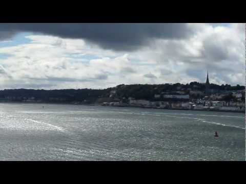 Port of Cork, MV Pont-Aven, Brittany Ferries, Munster, South-East Ireland, Europe