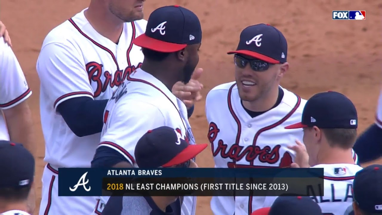 9dcbfc4ad BRAVES CLINCH THE EAST  BeastsOfTheEast - YouTube