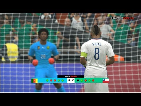 Cameroon vs Chile - Confederations Cup 2017 Penalty Shootout
