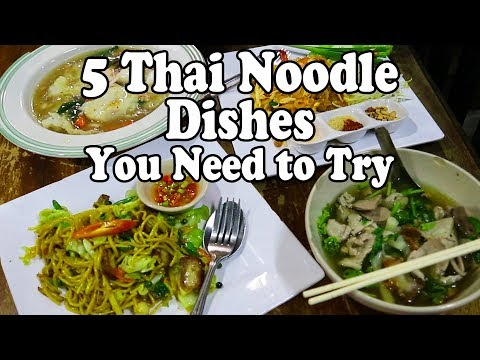 Thai Noodle Tour Part 2: Five Tasty Thai Noodle Dishes You Should Eat in Thailand