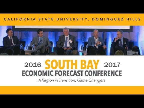 2016-17 SOUTH BAY ECONOMIC FORECAST CONFERENCE @ CSUDH (October 27, 2016)