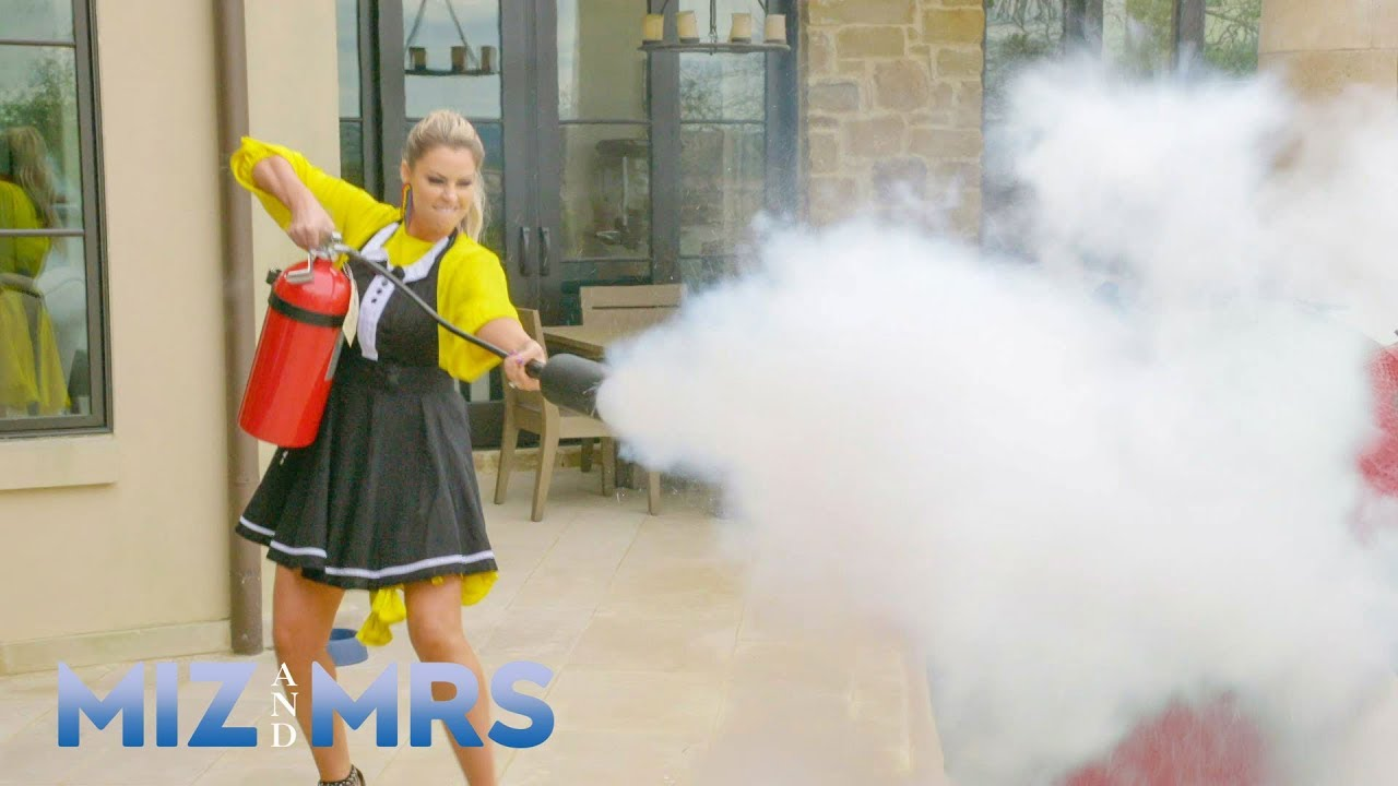 Miz sets his gigantic wheel of cheese on fire: Miz & Mrs., July 23, 2019