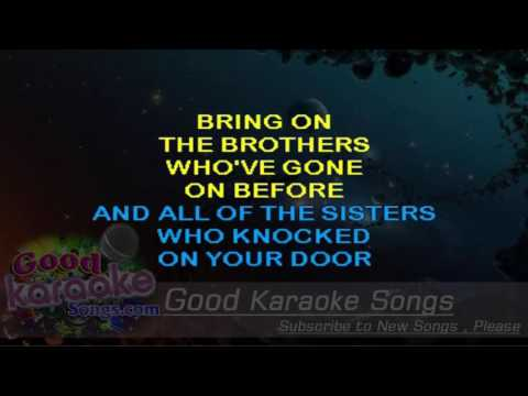 Drop Kick Me Jesus -  Bobby Bare (Lyrics Karaoke) [ goodkaraokesongs.com ]