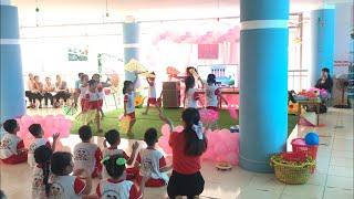 Hoạt động âm nhạc chuyên đề lấy trẻ làm trung tâm cấp Tỉnh hay nhất  | trường mầm non TP Hà Tiên