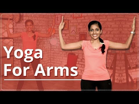YOGA For ARMS | ARMS WORKOUT | EASY YOGA WORKOUT | TONED & STRONG ARMS
