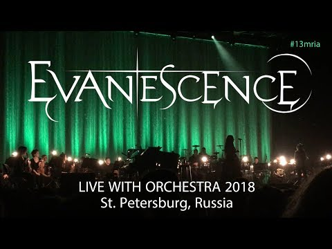 Evanescence – La Chasse (Mozart cover) @ St Petersburg 15.03.2018