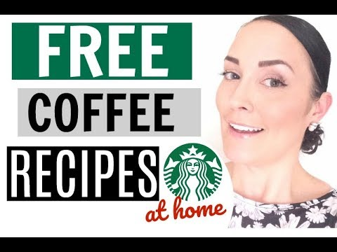 FREE COFFEE BUDGET RECIPES ● HOW TO SAVE MONEY ON COFFEE AT HOME ● HOW TO MAKE ICE COFFEE AT HOME