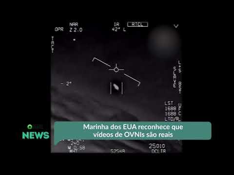 VÍDEO:MARINHA DOS EUA CONFIRMA VERACIDADE DE VÍDEO DO PENTÁGONO COM POSSÍVEL OVNI