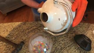 Liquid Nitrogen Vs Firework