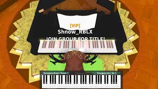 John Denver - Country Roads on ROBLOX Piano