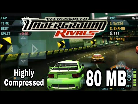 Need For Speed Underground Rivals Psp Highly Compressed 80 Mb