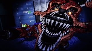 NIGHTMARE FOXY!! [Nights 3+4] | Five Nights At Freddy's 4 [FNAF 4 Part 2]