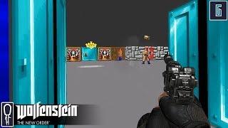RETRO - Let's Play Wolfenstein The New Order [BLIND] - Part 6 - Gameplay Walkthrough
