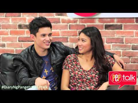PEPtalk. James Reid and Nadine Lustre feel lucky to be each others love team: Don't forget to subscribe to our YouTube channel! http://bit.ly/1fXIXDZ  Want to know the latest in showbiz? log on to http://www.pep.ph! Like PEP.ph on Facebook! https://www.facebook.com/PEPalerts Follow PEP.ph on Twitter! https://twitter.com/pepalerts  Vote for your fave stars now on our #PEPlist! http://www.pep.ph/pep-list