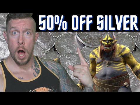 WOW 50% OFF SILVER & BEST x 10 EVENT EVER?!