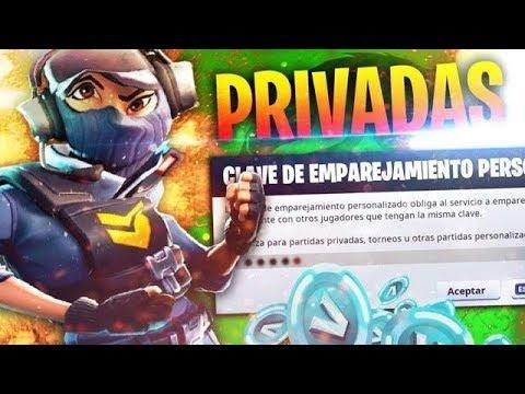 JUGANDO LAS MEJORES PARTIDAS PRIVADAS DE FORTNITE CON CODIGO  / PARTIDAS PERSONALIZADAS