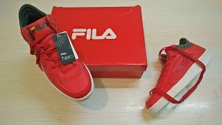 FILA Men Red Broden Sneakers - Review