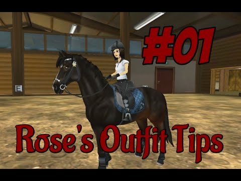 Star Stable Online; Rose outfit tips ~ Theme: Ridinglesson